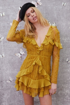 FOR LOVE & LEMONS Daphne Lace Mini - Product List Image
