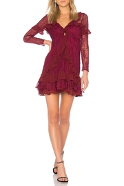 FOR LOVE & LEMONS Daphne Lace Mini-Dress - Product Mini Image