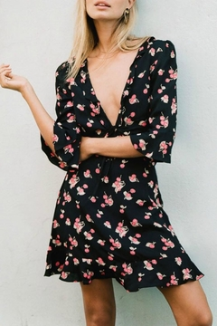 FOR LOVE & LEMONS Festive Cherry Sundress - Alternate List Image