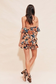 FOR LOVE & LEMONS Flamenco Strapless Dress - Front full body