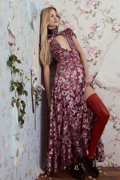 FOR LOVE & LEMONS Flora Maxi Dress - Product List Image