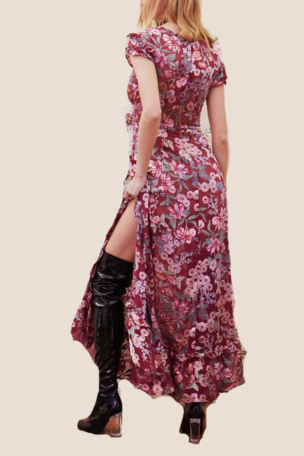f71b18281419 FOR LOVE & LEMONS Flora Maxi Dress from Florida by LoveRich Boutique ...