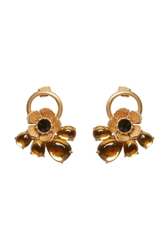 FOR LOVE & LEMONS Flower Loop Earrings - Product List Image