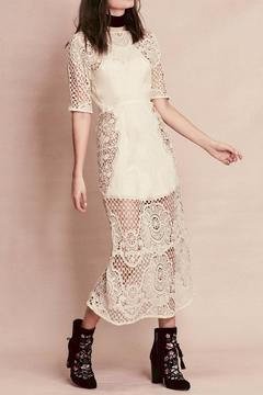 FOR LOVE & LEMONS Gracey Midi Dress - Product List Image