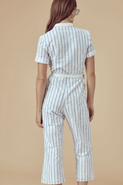 FOR LOVE & LEMONS Hermosa Striped Jumpsuit - Other