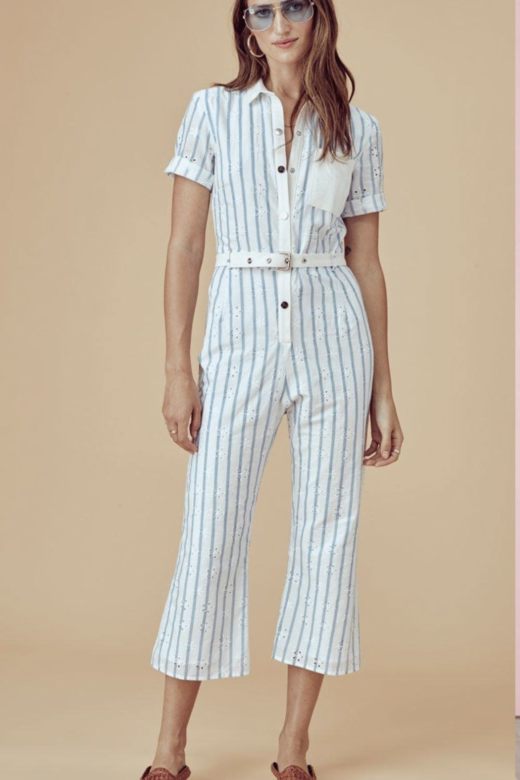 c8562320c34f FOR LOVE   LEMONS Hermosa Striped Jumpsuit from Canada by Angel ...