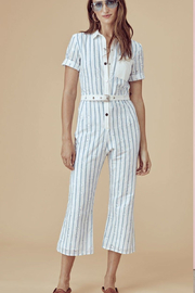 FOR LOVE & LEMONS Hermosa Striped Jumpsuit - Product Mini Image