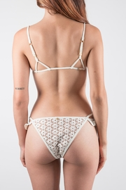 FOR LOVE & LEMONS Ivory Bikini Set - Side cropped
