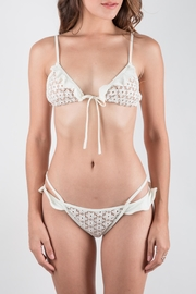FOR LOVE & LEMONS Ivory Bikini Set - Front cropped