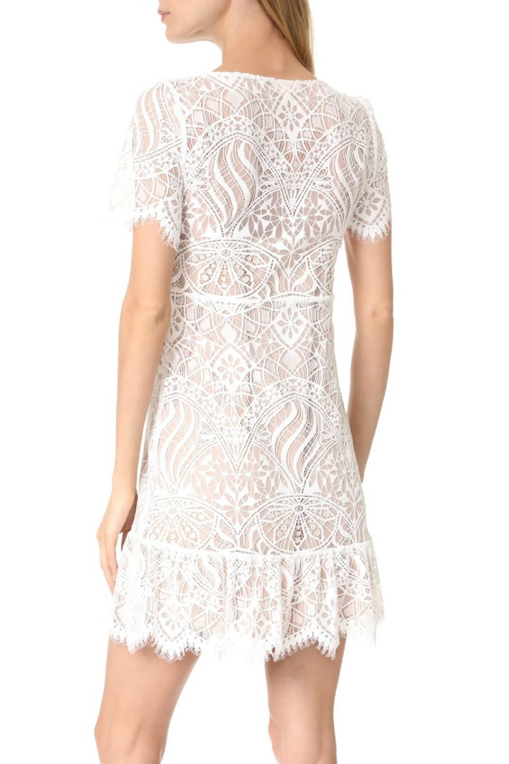 FOR LOVE & LEMONS Lily Lace Dress - Front Full Image