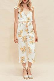 FOR LOVE & LEMONS Limonada Printed Romper - Product Mini Image