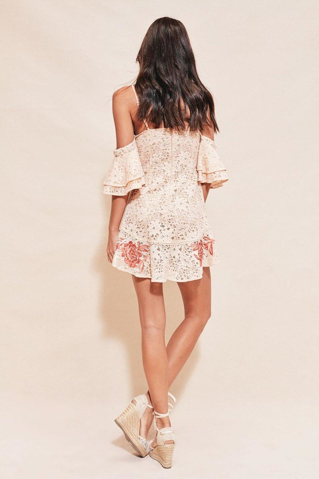 FOR LOVE & LEMONS Mallorca Tank Dress - Front Full Image
