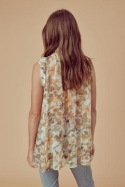 FOR LOVE & LEMONS Maritza Floral Tunic - Front full body