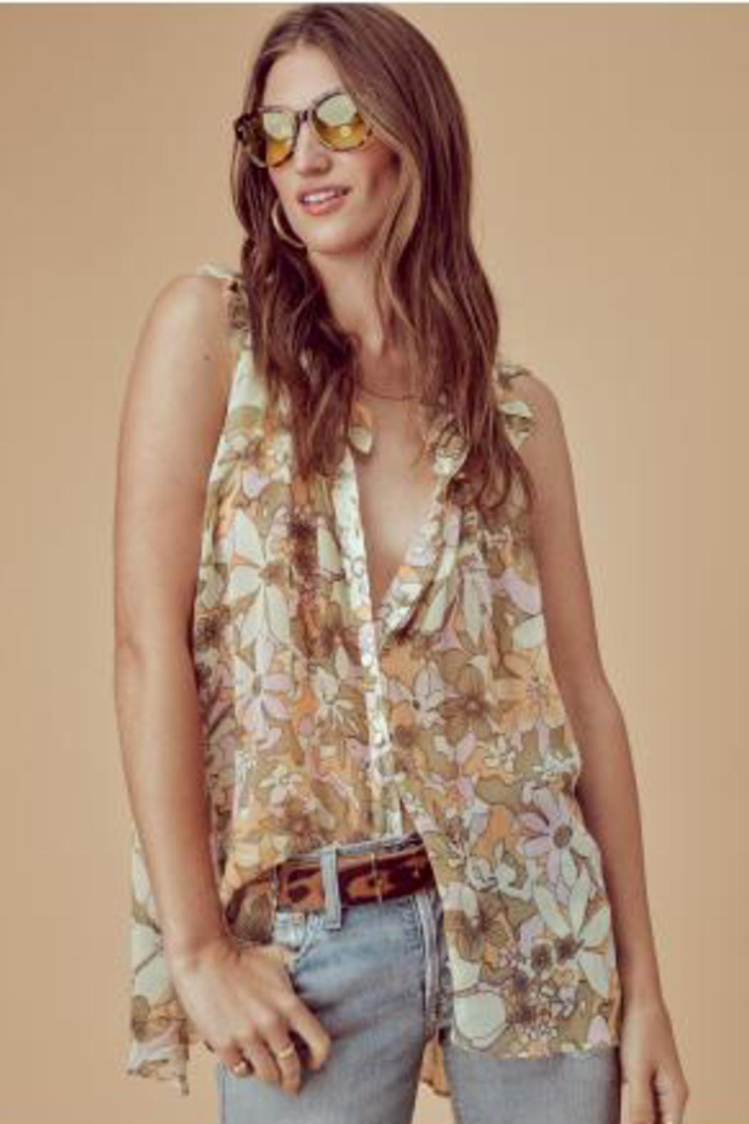 FOR LOVE & LEMONS Maritza Floral Tunic - Main Image