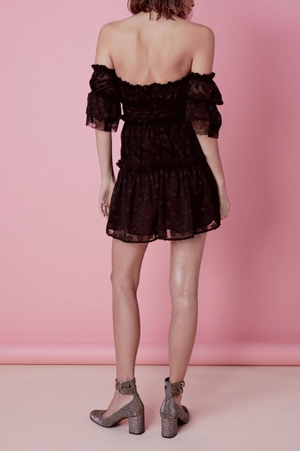 FOR LOVE & LEMONS Modern Love Dress - Side Cropped Image