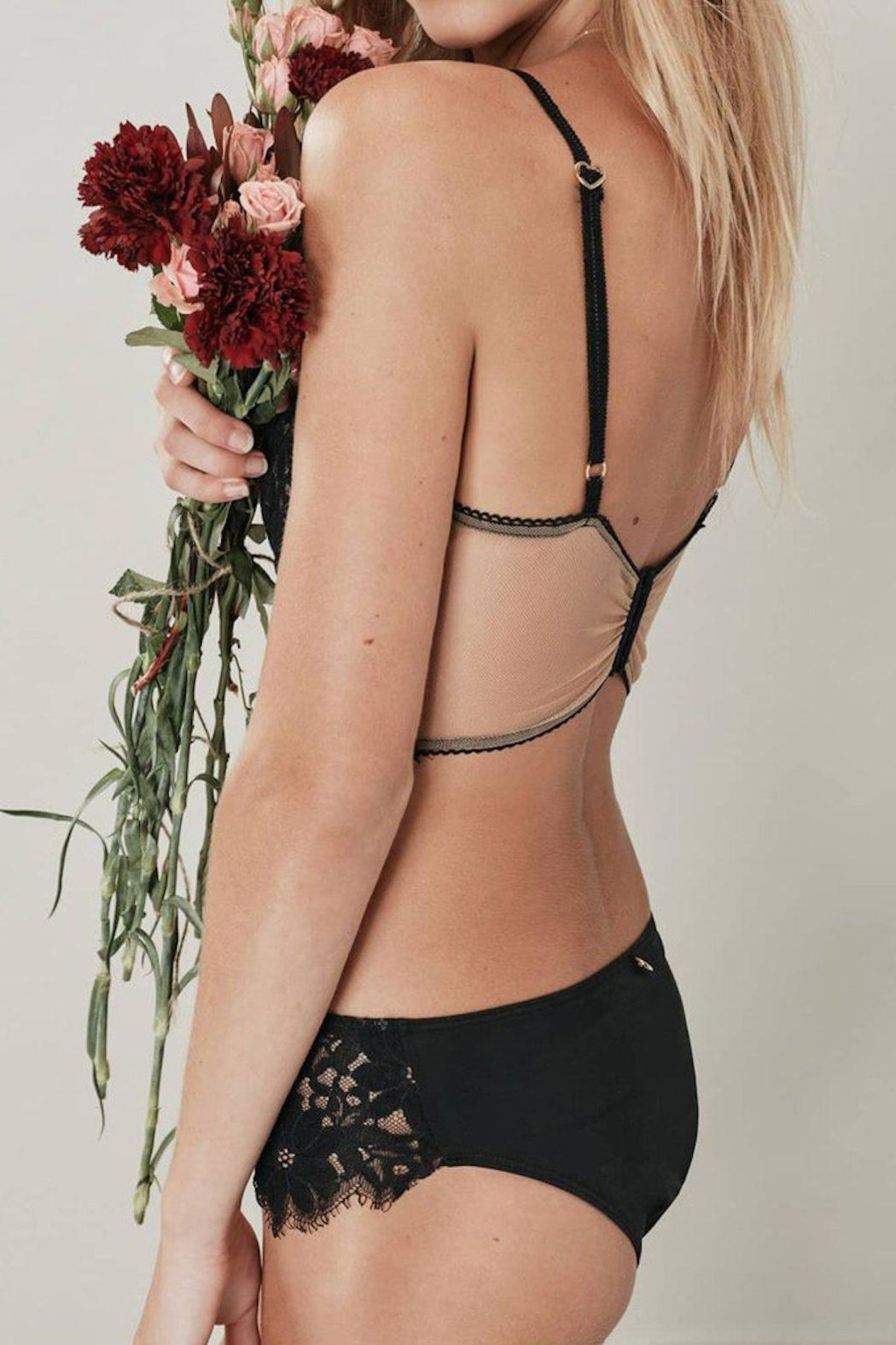 ad0757fdaf77a FOR LOVE   LEMONS Sage Underwire Bralette from Texas by Queen Bee ...