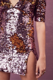 FOR LOVE & LEMONS Sparklers Party Dress - Side cropped