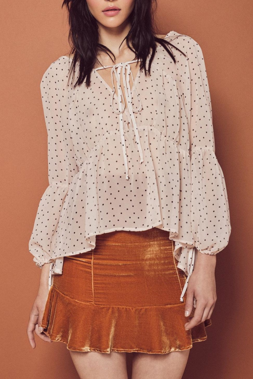 FOR LOVE & LEMONS Truffles Blouse - Main Image