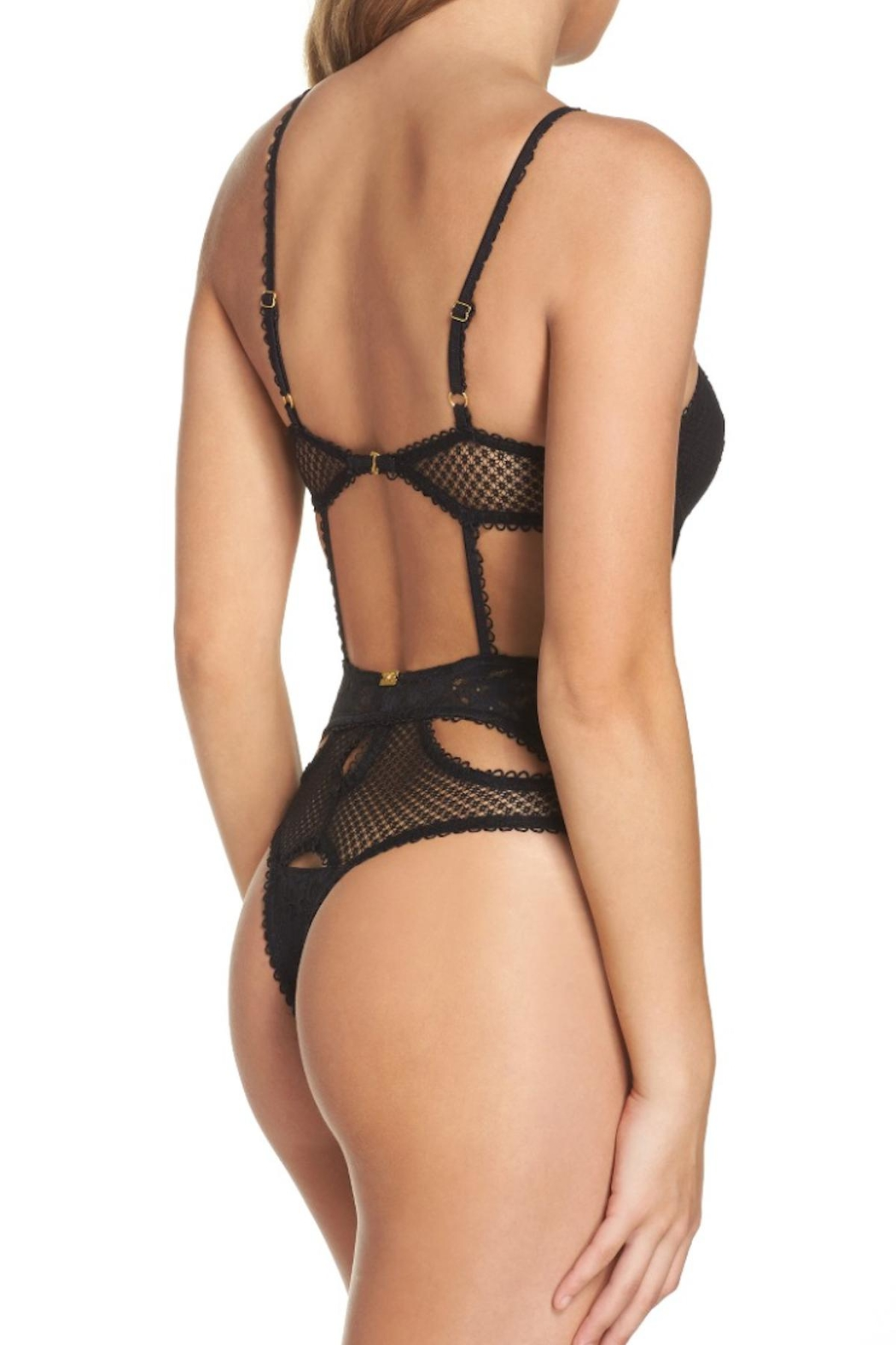 FOR LOVE & LEMONS Vega Bodysuit - Side Cropped Image