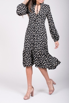 For Sienna Floral Midi Dress - Product List Image