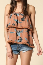 By Together Foral Strapless Top - Product Mini Image