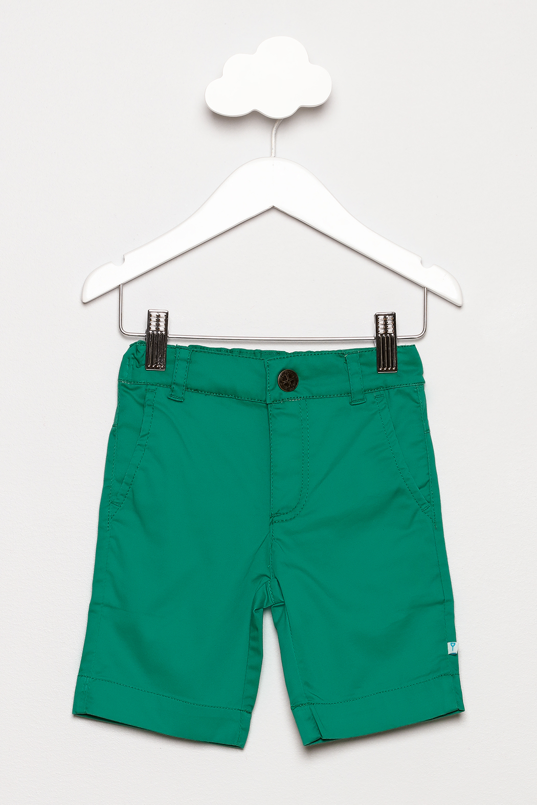FORE Green Shorts - Front Cropped Image