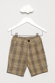 FORE Tan Plaid Shorts - Product Mini Image