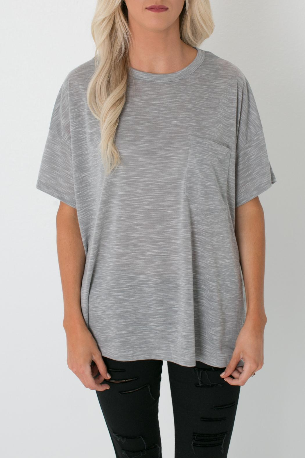 Fore Collection Oversized Pocket Tee from Colorado by Apricot Lane ...