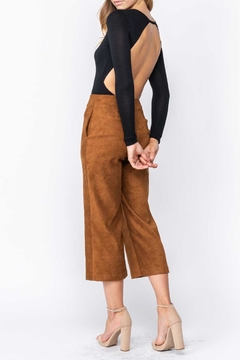 Fore Collection Suede Crop Pants - Alternate List Image