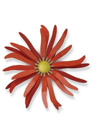 Foreside Coral Metal Flower - Product Mini Image