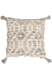 Foreside Hand Woven Pillow - Front cropped