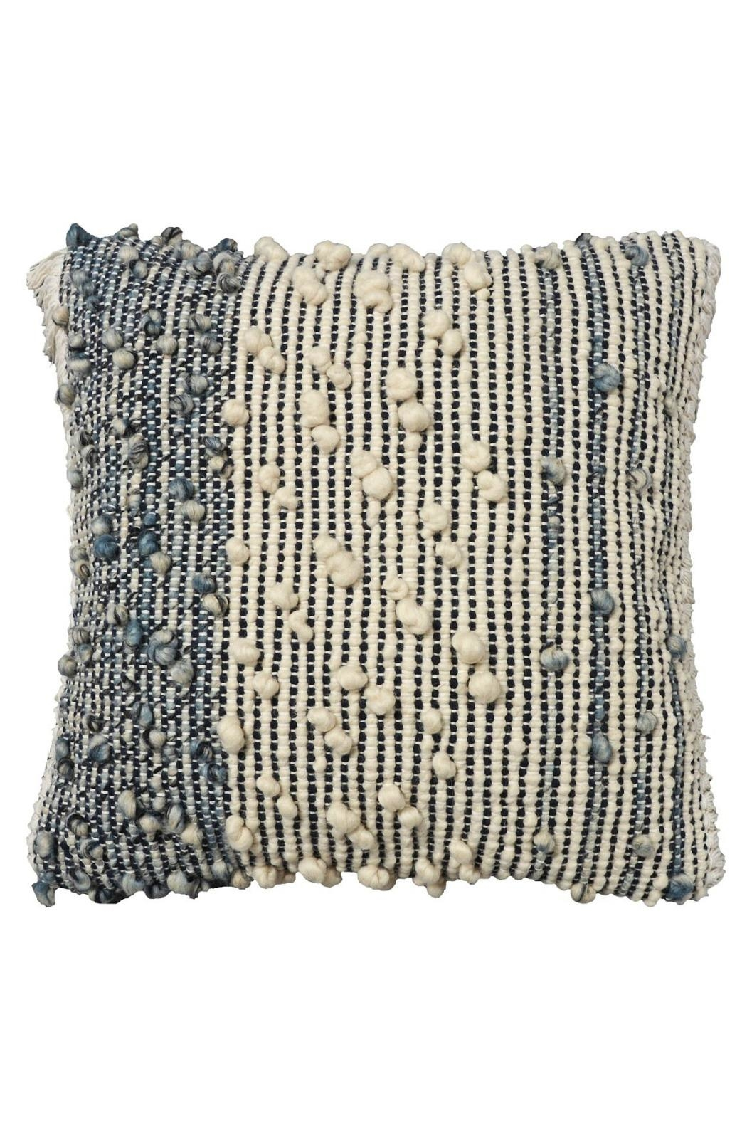 Foreside Hand Woven Pillow - Main Image