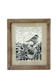 Foreside Bird Block Print - Product Mini Image