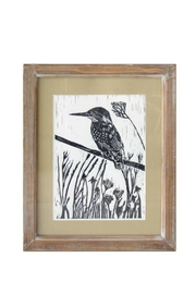 Foreside Pen Ink Hummingbird Print - Front cropped