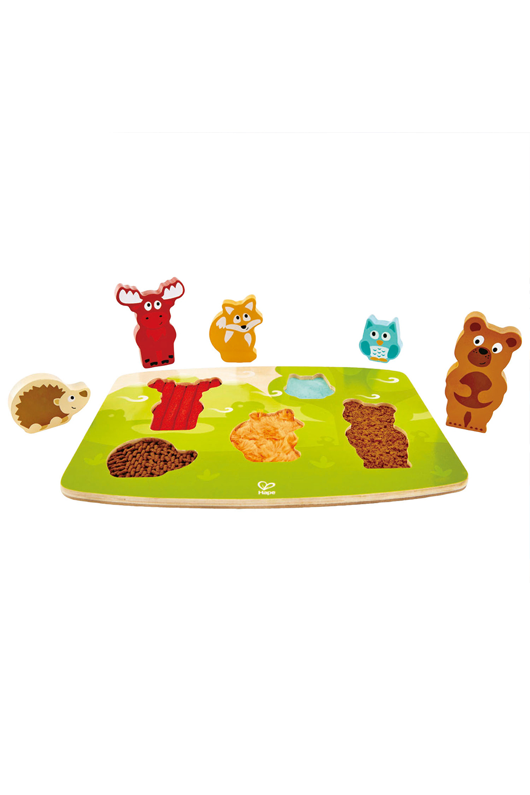 Hape  Forest Animal Tactile Puzzle - Main Image