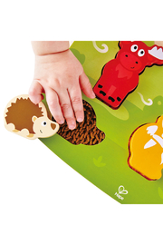 Hape  Forest Animal Tactile Puzzle - Front full body