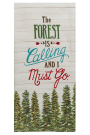 Kay Dee Designs Forest Calling Terry Towel - Product Mini Image