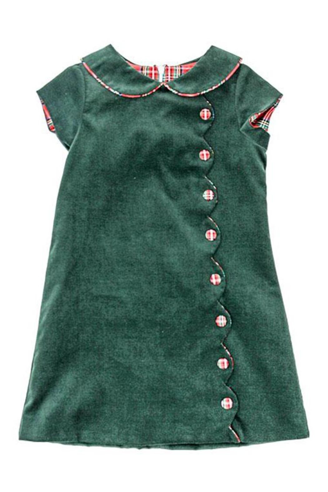 Bailey Boys Forest Corduroy Button-Dress - Side Cropped Image