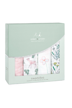 Shoptiques Product: Forest Fantasy 4 Pack Classic Swaddle
