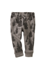 Tea Collection Forest Fleece Baby Joggers - Front cropped
