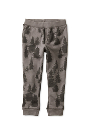 Tea Collection Forest Fleece Joggers - Product Mini Image