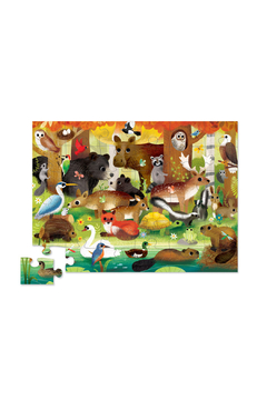 Crocodile Creek Forest Friends 36 Piece Puzzle - Alternate List Image