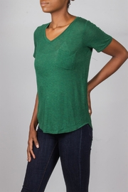 Tresics Forest-Green Everyday Tee - Front cropped