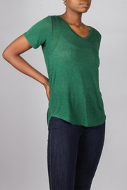 Tresics Forest-Green Everyday Tee - Side cropped
