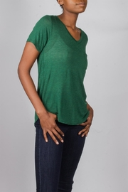 Tresics Forest-Green Everyday Tee - Front full body
