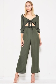 etophe studios Forest Green Jumpsuit - Product Mini Image