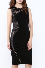 Forest Lily Little Black Dress - Product Mini Image
