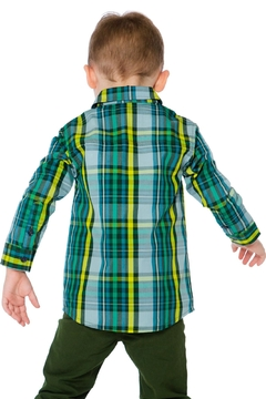 Deux Par Deux Forest Plaid Shirt - Alternate List Image