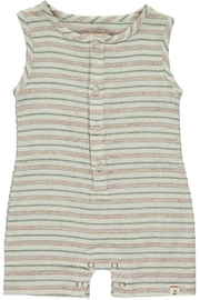 Me and Henry Forest Romper - Front full body