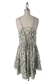 Comme Toi Forest Summer Dress - Side cropped